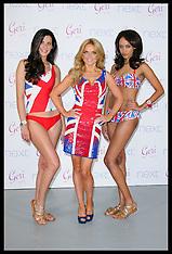 Gerri Halliwell Union Jack launch