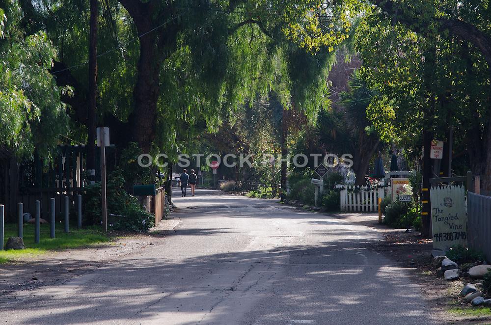 Los Rios Historic District in San Juan Capistrano California
