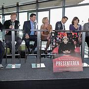 NLD/Amsterdam/20120416 - Boekpresentatie Presteren, Maritte Braspenning, Wilfred Genee, Sacha de Boer, Matthijs van Nieuwkerk, Jan Mulder, Astrid Kerssenboom, Prem Radhakishun, Rick Nieman, Twan Huys