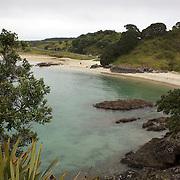 Maitai Beach on the Karikari Peninsula on the North Island of New Zealand. 20th November 2010.  Photo Tim Clayton.
