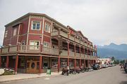 Kaslo Hotel, Kaslo, Village on Kootenay Lake, West Kootenay, British Colmubia, Canada