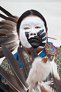 Intertribal Ceremonial Pow wow, dancer, T. Willie, Gallup, New Mexico
