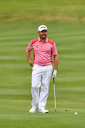 March 24, 2018 - Austin, TX, U.S. - AUSTIN, TX - MARCH 24: Louis Oosthuizen gets ready to hit his approach shot during the Round of 16 for the WGC-Dell Technologies Match Play on March 24, 2018 at Austin Country Club in Austin, TX. (Photo by Daniel Dunn/Icon Sportswire) (Credit Image: © Daniel Dunn/Icon SMI via ZUMA Press)