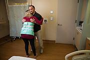 Good Samaritan Hospital Labor & Delivery marketing campaign photographed at Good Samaritan Hospital in San Jose, California, on February 9, 2017. (Stan Olszewski/SOSKIphoto)(Stan Olszewski/SOSKIphoto)