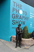 April 8, 2018-New York, New York-United States: Photographer Louis Mendes attends the Photography Show presented by AIPAD held at Pier 94 on April 8, 2018 in New York City. The Photography Show, held at Pier 94, is the longest-running and foremost exhibition dedicated to the photographic medium, offering contemporary, modern, and 19th century photographs as wells photo-based art, video and new media.(Photo by Terrence Jennings/terrencejennings.com)