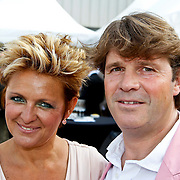 NLD/Amsterdam/20100605 - Amsterdamdiner 2010, Caroline Tensen en partner Peter Gallas