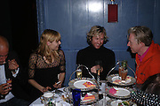 Jemima French, ? and Philip Treacy'Pret-a-Portea'M.A.C. launches High Tea collection with British fashion designers. Berkeley Hotel. 17 January 2004. ONE TIME USE ONLY - DO NOT ARCHIVE  © Copyright Photograph by Dafydd Jones 66 Stockwell Park Rd. London SW9 0DA Tel 020 7733 0108 www.dafjones.com