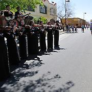 Mariachi serenading bicyclists during Cyclovia Tucson 2011. Bike-tography by Martha Retallick.