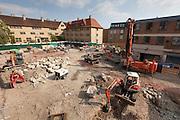 Pembroke College Brewer Street Project, April '11