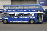 Millwall fan bus taken before the Shrewsbury Town match for the Sky Bet League 1 match at The Den, London<br /> Picture by Richard Brooks/Focus Images Ltd 07947656233<br /> 10/12/2016