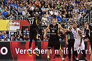DESCRIZIONE : Berlino Berlin Eurobasket 2015 Group B Germany Germania - Italia Italy<br /> GIOCATORE : Dennis Schroeder<br /> CATEGORIA : Tiro Tre Punti Three Point Controcampo<br /> SQUADRA : Germania Germany<br /> EVENTO : Eurobasket 2015 Group B<br /> GARA : Germany Italy - Germania Italia<br /> DATA : 09/09/2015<br /> SPORT : Pallacanestro<br /> AUTORE : Agenzia Ciamillo-Castoria/GiulioCiamillo