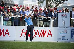 November 22, 2018 - Hong Kong, China - A photo showing Australian Golf Player Wade Ormsby during a match in the Honma Hong Kong Open 2018 in Hong Kong, China. 22 November 2018. (Credit Image: © Harry Wai/NurPhoto via ZUMA Press)