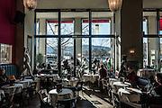 Switzerland, Zurich: Terrasee cafè meeting point of dada  artists and intellectuals