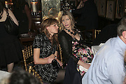 Jemima Khan and Nicola Fornby,  Charles Finch and Chanel 7th Anniversary Pre-Bafta party to celebratew A Great Year of Film and Fashiont at Annabel's. Berkeley Sq. London W1. 10 February 2007. -DO NOT ARCHIVE-© Copyright Photograph by Dafydd Jones. 248 Clapham Rd. London SW9 0PZ. Tel 0207 820 0771. www.dafjones.com.