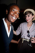 ANGIE DIXON; VICTORIA PERRY, Pimlico Road party. 22 June 2010. -DO NOT ARCHIVE-© Copyright Photograph by Dafydd Jones. 248 Clapham Rd. London SW9 0PZ. Tel 0207 820 0771. www.dafjones.com.
