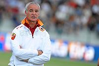 Fotball<br /> Italia<br /> Foto: Insidefoto/Digitalsport<br /> NORWAY ONLY<br /> <br /> l'allenatore della roma claudio ranieri<br /> <br /> 27.07.2010<br /> partita amichevole roma al sadd (qatar)