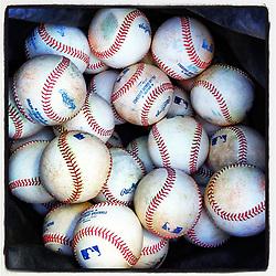 Baseballs in Scottsdale,  2012