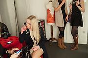 ALICE ZIELASKO, Maison Triumph launch to celebrate the beginning of London fashion week. Monmouth St. 14 February 2013.