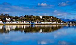 Looking over the harbour at Pwllheli, North Wales, UK<br /> <br /> (c) Andrew Wilson   Edinburgh Elite media