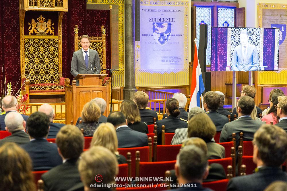 NLD/Den Haag/20171221 - Koning bij sluitingsceremonie Joegoslavie tribunaal, Halbe Zijlstra