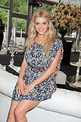 TV presenter ANNA WILLIAMSON at the F1 Party in aid of Great Ormond Street Hospital Children's Charity held at Battersea Evolution, Battersea Park, London on 4th July 2012.
