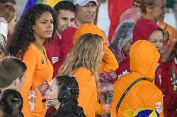 21-08-2016 BRA: Olympic Games day 22, Rio de Janeiro<br /> Rio neemt afscheid van de Olympische Spelen, sluitingsceremonie met veel dans, muziek en saaiheid / Celeste Plak