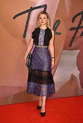 Amber Atherton attending The Fashion Awards 2016 at the Royal Albert Hall, London.