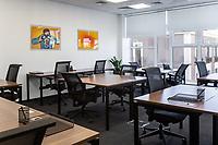 Working space in Regus office in Kyiv