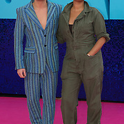 Riyadh Khalaf and Gemma Cairney attended 'Everybody's Talking About Jamie' film premiere at Royal Festival Hall, London, UK. 13 September 2021