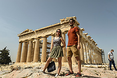 Acropolis reopens to visitors, Athens, 18 May 2020