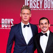 NLD/Utrecht/20130922 - Premiere Jersey Boys, Ferry Doedens enpartner Nuno Azevedo