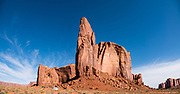 Monument Valley Navajo Tribal Park, Arizona, USA. This image was stitched from multiple overlapping photos.