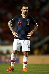 September 11, 2018 - Elche, Spain - Marko Livaja of Croatia during the UEFA Nations League football match between Spain and Croatia at Martinez Valero Stadium in Elche, Spain on September 11, 2018. (Credit Image: © Jose Breton/NurPhoto/ZUMA Press)