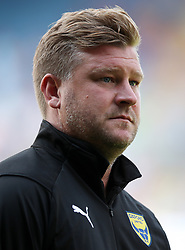 Oxford United manager Karl Robinson during a pre season friendly match at The Kassam Stadium, Oxford.