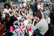 April 29th 2011 Royal Wedding. Wilton Way Hackney street party