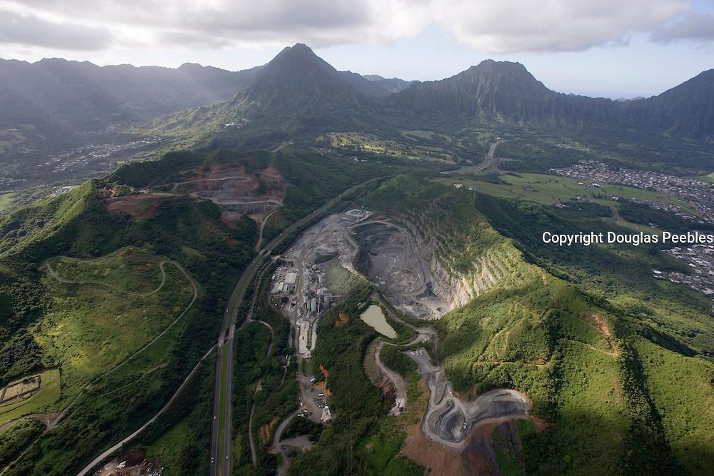 Kapaa Quarry, Kaneohe, Oahu, Hawaii<br />