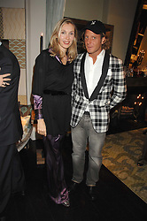 ALLEGRA HICKS and LAPO ELKANN at a party hosted by Allegra Hicks to launch Lapo Elkann's fashion range in London held at Allegra Hicks, 28 Cadogan Place, London on 14th November 2007.<br /><br />NON EXCLUSIVE - WORLD RIGHTS