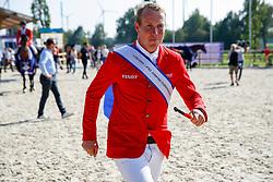 RIESENBECK - FEI Jumping European Championship Riesenbeck 2021<br /> <br /> WILL David (GER)<br /> Impressionen vom Abreiteplatz<br /> Second Qualifying Competition - Round 2 <br /> Team Final<br /> <br /> Hörstel-Riesenbeck, Reitanlage Riesenbeck International<br /> 03. September 2021<br /> © www.sportfotos-lafrentz.de/Stefan Lafrentz