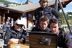 Aleph Sailing Team. St Moritz Match Race 2010. World Match Racing Tour. St Moritz, Switzerland. 5th September 2010. Photo: Ian Roman/WMRT.