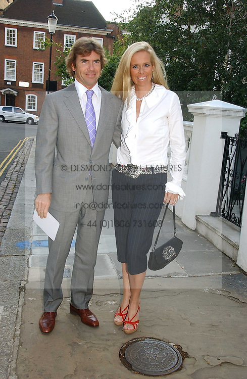 PAUL & VICTORIA STEWART, he is the son of racing driver Jackie Stewart at Sir David & Lady Carina Frost's annual summer party held in Carlyle Square, Chelsea, London on 5th July 2006.<br /><br />NON EXCLUSIVE - WORLD RIGHTS