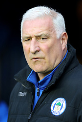 Wigan Athletic Interim manager Graham Barrow before the Sky Bet Championship match at the DW Stadium, Wigan.