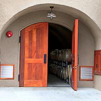 USA, California, Carmel. Wine caves of Holman Ranch.