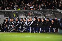 BANC DE TOUCHE DE LYON - Yoann GOURCUFF / Gael DANIC - 11.01.2015 - Lyon / Toulouse - 20eme journee de Ligue 1<br /> Photo : Jean Paul Thomas / Icon Sport
