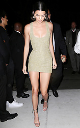 Celebrities arriving at Mert and Marcus party, Bella Hadid, Cindy Crawford and Adriana Lima. 07 Sep 2017 Pictured: Kendall Jenner. Photo credit: MEGA TheMegaAgency.com +1 888 505 6342