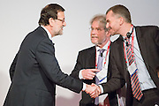 Mariano Rajoy greetings to The Economist staff