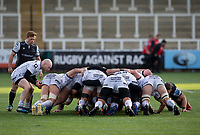 Rugby Union  - 2020 / 2021 Gallagher Premiership - Newcastle Falcons vs Gloucester - Kingston Park<br /> <br /> Joe Simpson of Gloucester Rugby puts the ball into a scrum<br /> <br /> COLORSPORT/BRUCE WHITE