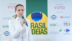 Brasil de Idéias com o Governador José I. Sartori e diretor-presidente da Celulose Riograndense, Walter Lídio Nunes. FOTO: Jefferson Bernardes/ Agência Preview