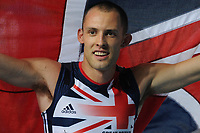 ATHLETICS - IAAF WORLD CHAMPIONSHIPS 2011 - DAEGU (KOR) - DAY 6 - 01/09/2011 - PHOTO : STEPHANE KEMPINAIRE / KMSP / DPPI - <br /> 400 M - MEN - FINALE - WINNER - GOLD MEDAL - DAVID GREENE (GBR)