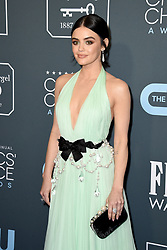 Lucy Hale attends the 25th Annual Critics' Choice Awards held at Barker Hangar on January 12, 2020 in Santa Monica, CA, USA. Photo by Lionel Hahn/ABACAPRESS.COM