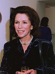 LADY CECIL CAMERON at an exhibition in London on 3rd December 1997.<br /> MDY 22